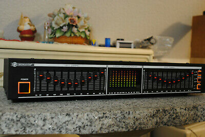 Monacor GE-2020 * 2 X 10 Band Graphic Equalizer Analyzer * Vintage * Mega-RAR • 139€