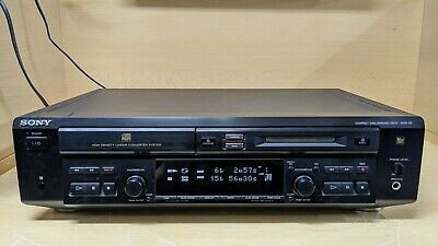 Sony MXD-D3 Compact Disc Minidisc Deck MD / CD Combi Player Recorder • 139.99€