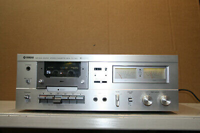 YAMAHA TC 520 SILVER  Tapedeck *MINT* Checked • 379€