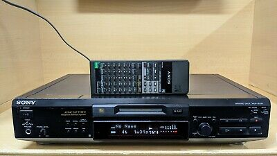 Sony MDS-JE530 Minidisc Deck MD Player Recorder + Remote Control RM-D1M • 89.95€