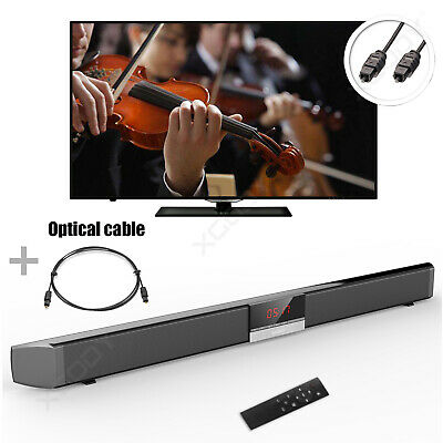 87cm Home 3D Surround TV Soundbar System Wireless Soundbar Koaxial Optical 40W • 48.89€