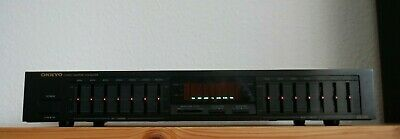 ONKYO EQ-240 - STEREO GRAPHIC EQUALIZER, 7 Band Equalizer, TOP ZUSTAND • 189.99€