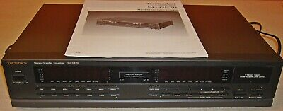 Technics SH-GE70 Stereo Equalizer Incl. Bedienungsanleitung (Topzustand) • 145€
