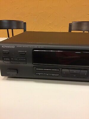 KENWOOD GE 470 Stereo Graphit Equalizer • 60€