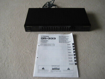 Pioneer Graphic Equalizer GR-333 • 1€