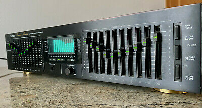 Lenco SE 3910 Stereo Graphic Equalizer / Analyzer Research Acustic VINTAGE • 299€