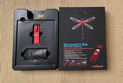 Audioquest DragonFly Red • 81€