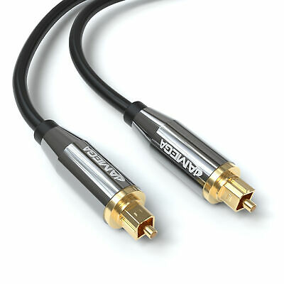 1,5m Toslink Premium HQ Von JAMEGA | Optisches Audiokabel LWL SPDIF Digital • 6.99€
