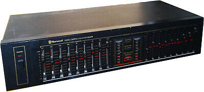 Sherwood EQ-460B Vintage Graphic Equalizer 9 BAND • 65€