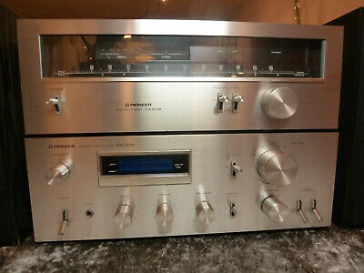 PIONEER Stereo Amplifier SA 508 + Tuner TX-608 • 50€