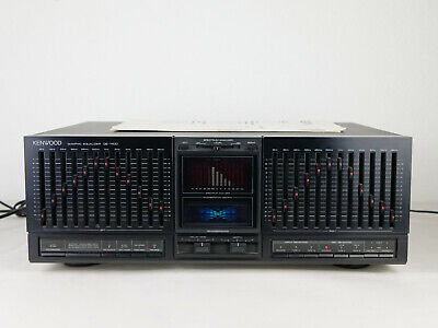 Kenwood GE-1100 Equalizer EQ Mit Hall Reverbaration - Vintage • 399€