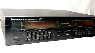 Pioneer GR-555 7 Band Equalizer Hifi-Stereo Graphic Equalizer 16467 • 99.95€