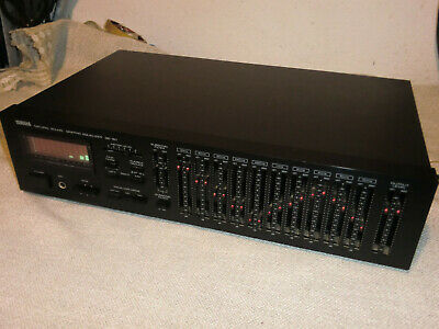 Yamaha GE-60 Natural Sound Graphic Equalizer, JAPAN,  Funktion GUT! (7) • 233.01€