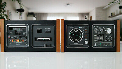 CLARION 2/4 Channel System: 8-Track Deck, Tape Deck, Amplifier, Tuner • 399€