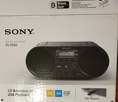 Sony Boombox Mit USB ZS PS50 Sehr Guter Zustand OVP • 15€
