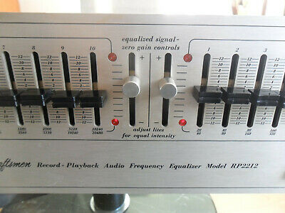 Soundcraftsmen Audio Frequency Equalizer Model RP 2212 • 180€