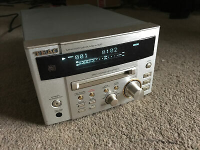 Teac Minidisc Deck Md-h100 Fully Working • 112.70€