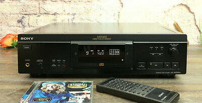 Sony CDP-XA50ES Weltklasse CD-Player, TOP-Zustand! Superb Condition Remote • 749€