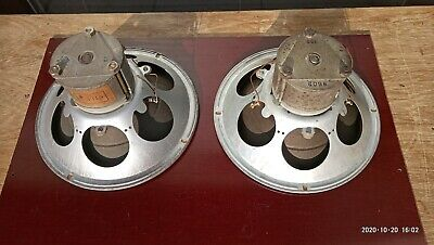 Vintage Speakers Philips 8' (210mm) Big AlNiCo From 30's  • 115€