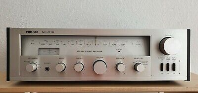 NIKKO NR-519 AM / FM Stereo Receiver Made In Japan • 69.95€