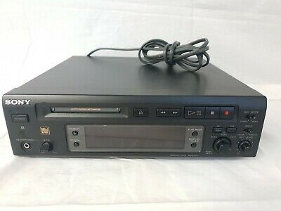 Sony MiniDisc Deck MDS-S37, MD-Player • 100€