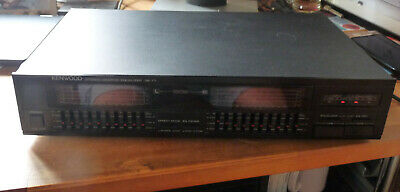Kenwood Graphic Equalizer Mit Spektrum Analyzer GE 77 • 90€