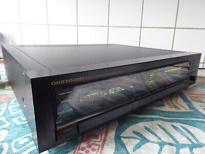 Vintage High-end Stereo Synthesizer Quartz Tuner Onkyo T-9990 • 1.50€