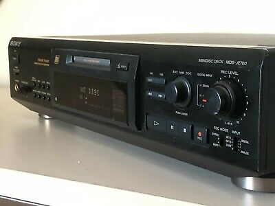 Sony Minidisc Deck MDS-JE700 Recorder Player  • 180€