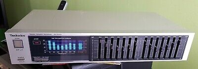 Technics SH-8044 Graphic Equalizer 2x7 Band Mit Roten Lampen • 66€