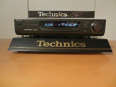 Technics ST-GT650 STEREO SYNTHESIZER FM/AM RDS TUNER 39Memory TOP ZUSTAND!!! • 94€