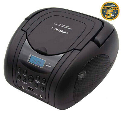 Lauson CP45x Tragbarer CD Player, USB/MP3 Spieler, Boombox Radiotuner,  • 35.49€