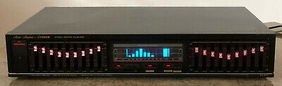 FISHER EQ 877 Stereo Graphic Equalizer 2x9 Band Made In Japan Vintage Rarität  • 99€