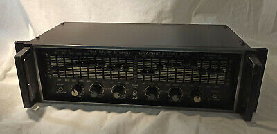 Peavey - 10 Band Stereo Graphic Equalizer - Vintage (10 Grafischer) • 109€