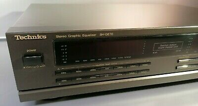 Technics SH-GE70 Stereo 7-Band Graphic EQ Equalizer / Guter Zastand  • 145€