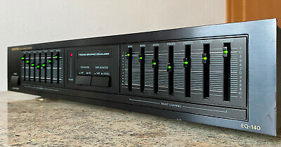 ONKYO EQ-140 Stereo Graphic 2x7 Band Equalizer Made In Japan • 119€