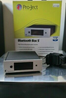 Pro-Ject Bluetooth Box S - TOP Zustand - OVP - Silber • 60€