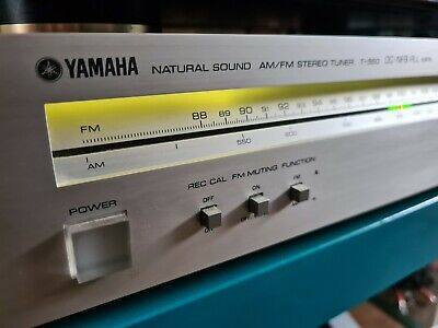 Yamaha T-550 Natural Sound AM/FM Stereo Tuner Top Zustand  • 43.40€