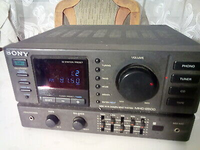 SONY   STR-H100  AM/FM  Stereo Receiver,  MADE In Japan • 27€