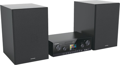 Grundig CMS 5000 BT DAB+ WEB Schwarz Stereo-Audiosystem, CD-Player • 228.99€