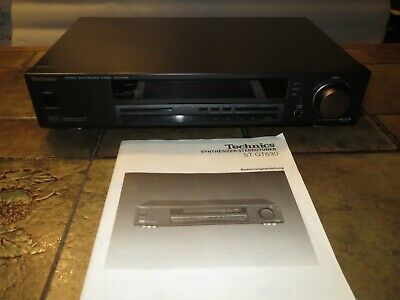 Technics ST-GT630 Stereo-Tuner Mit RDS, Made In Japan • 69€