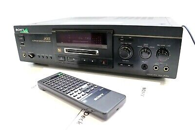 SONY MDS-JA3ES Minidisc MD Recorder / Player With Remote ** SERVICED ** • 335.01€