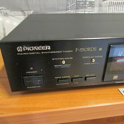 Pioneer F-550 RDS High End Tuner • 35€