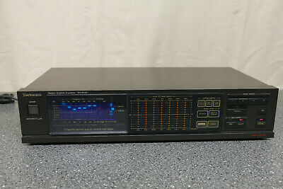 TECHNICS SH-8046 Stereo Graphic Equalizer Mit Touch Field • 149€