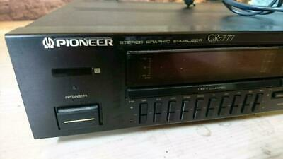 Pioneer Stereo Graphic Equalizer GR-777 • 275€