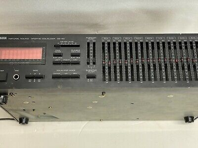 Yamaha GE-60 Natural Sound Stereo Graphic Equalizer • 185€