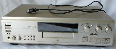 High-End MiniDisc-Recorder Sony MDS-JA555ES Champagner • 850€