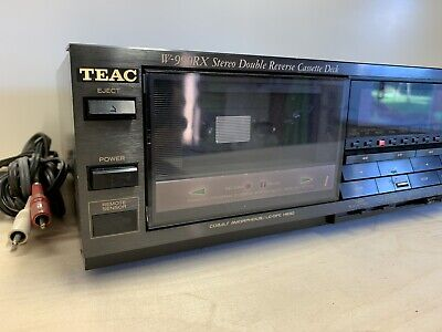 TEAC W-990RX Stereo Double Cassette Deck • 100€