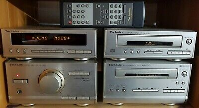 Technics HD301 HiFi Stereo Micro System Amplifier CD Kassette Tuner • 99€